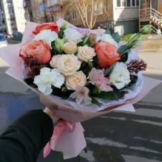 """Авторский букет """"Цветочный пунш"""""""