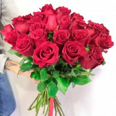 Букет из красных роз 25 шт.